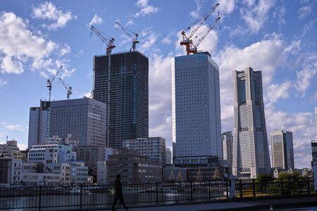 Yokohama, Japan - 02/1/2019: Minatomirai during the daytime Archivio Fotografico - 132422608