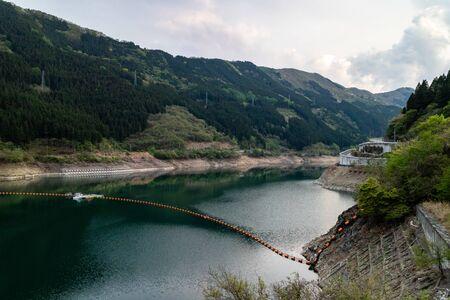 Takizawa Dam in Chichibu, Japan.