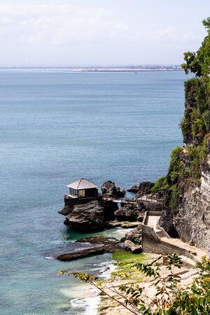beautiful coastal scenery along the Bali coastline. Archivio Fotografico - 133664115