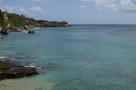 beautiful coastal scenery along the Bali coastline Archivio Fotografico - 134651204