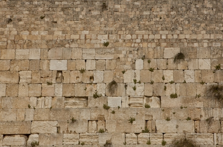 wailing: The Wailing Wall, Western wall in Jerusalem, Israel