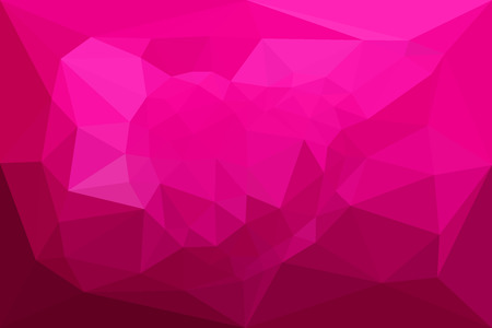 heart tone: The illustration Love Pink color and Heart polygon Background design.