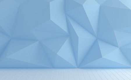 pastel color: Polygons wall pastel color background. Stock Photo