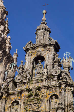 Cathedral of Santiago de Compostela, the end of the road Santiago