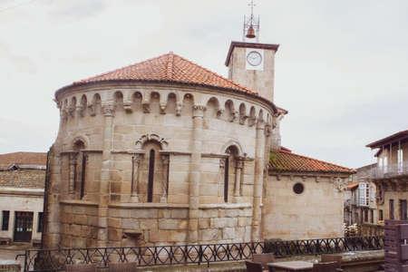 Santiago or James Church of Allariz close to Plaza Maior or Main Square