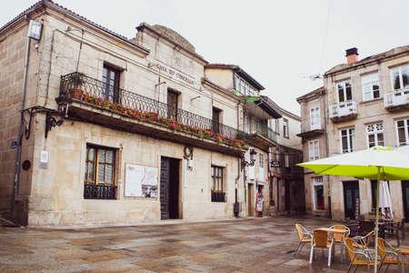 Allariz Town Hall Building, Ourense, Spain on November 6, 2020