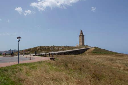 Hercules tower (lighthouse), La Coruna, Galicia, Spain, UNESCO