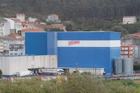 View of the industrial facilities of the Nueva Pescanova company in Arteixo, La Coruña on 9 April, 2019 Editorial