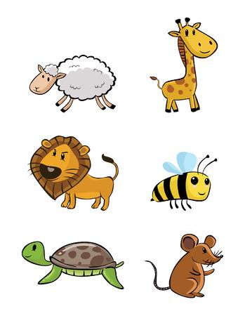animal baby: Cute Animal Baby Set