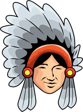 apache man Ilustração