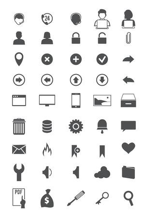 toolbar: Icone della barra degli strumenti Vettoriali