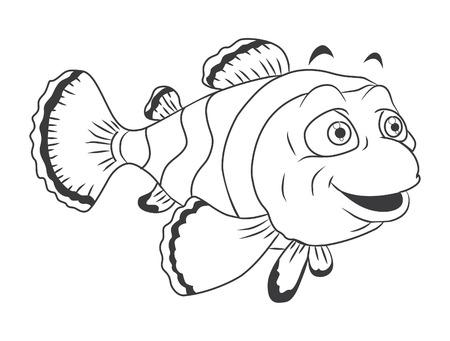 anemonefish: clown fish