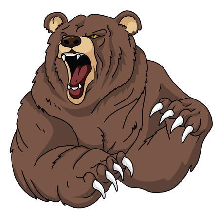 クマ  イラスト・ベクター素材