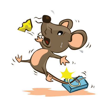 mouse trap: Mouse Trap Illustration