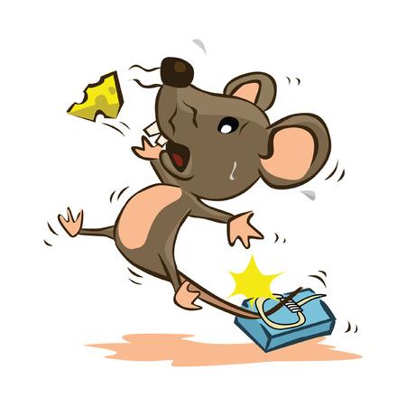mouse trap: Mouse Trap Illustration