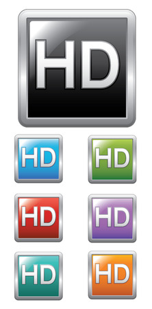 cinema screen: HD label