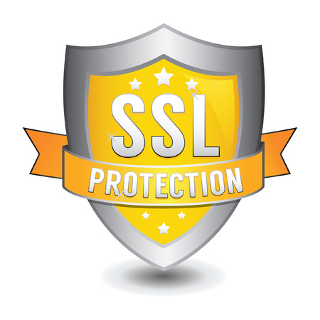restricted access: ssl protection yellow shield