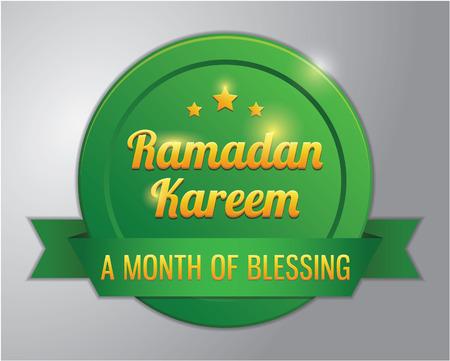 ramadhan: Ramadhan kareem badge