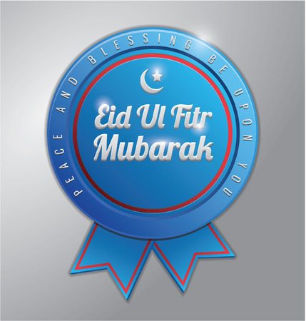 fitr: eid al fitr blue badge