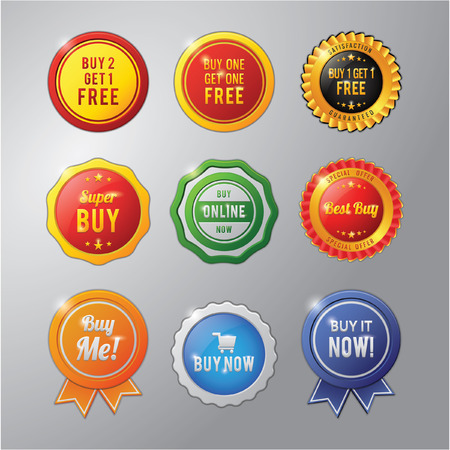 free me: Buy badge collection set