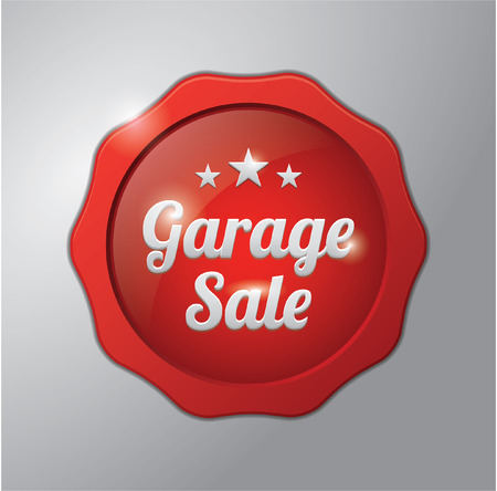 sell: Sell badge : Garage sale