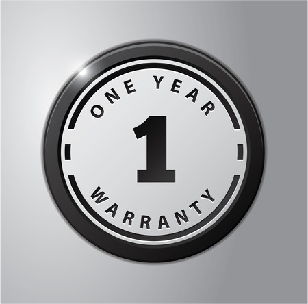 1 year warranty: 1 Year Warranty Illustration
