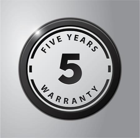 warranty: 5 Years Warranty