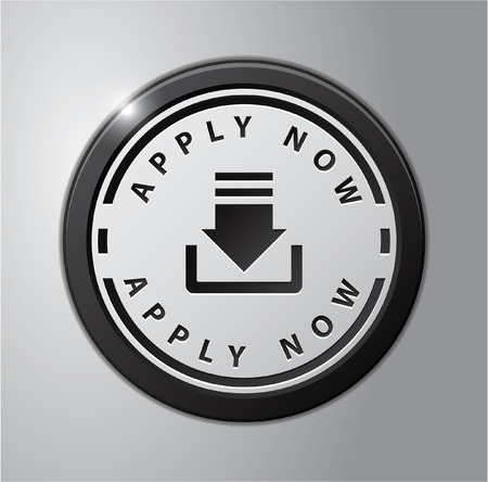 apply now: Apply now badge