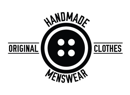 sewing label: handmade menswear : Sewing label badge
