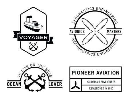 voyager: Voyager badge label