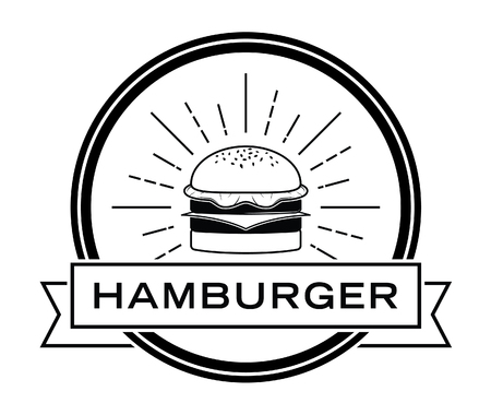 Burger badge