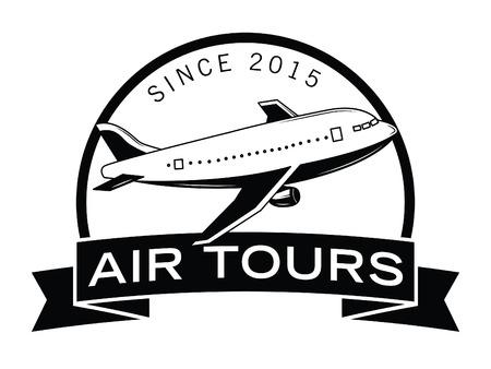 adventures: Air adventures label badge
