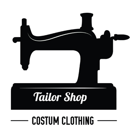 sewing label: Tailor shop : Sewing label badge