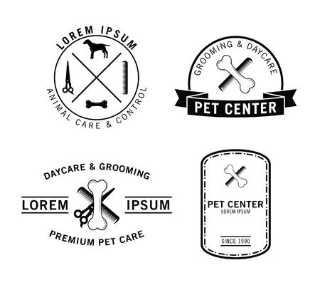 retro badge: Pet center badge