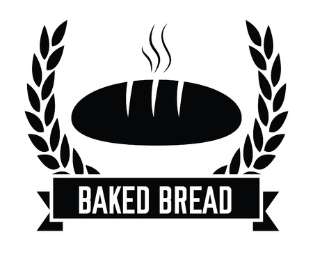 Baked bread badge