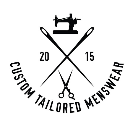 tailored: Custom tailored menswear : Sewing label badge
