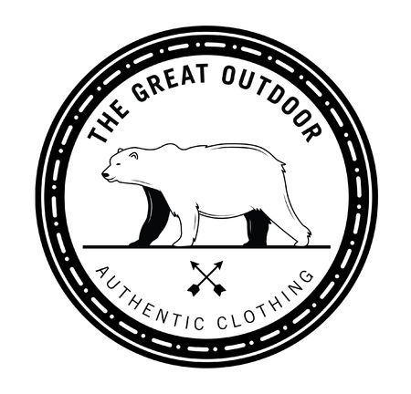 The great outdoor : Bear label