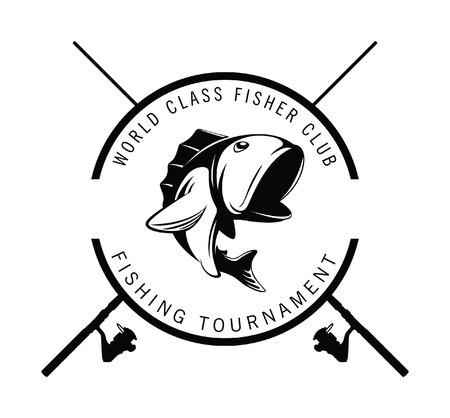 largemouth: fishing tournament badge