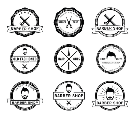 barber: Barber shop badge