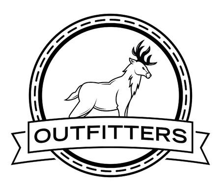 deer hunter: Deer hunter badge