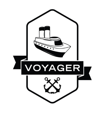 voyager: Voyager label badge