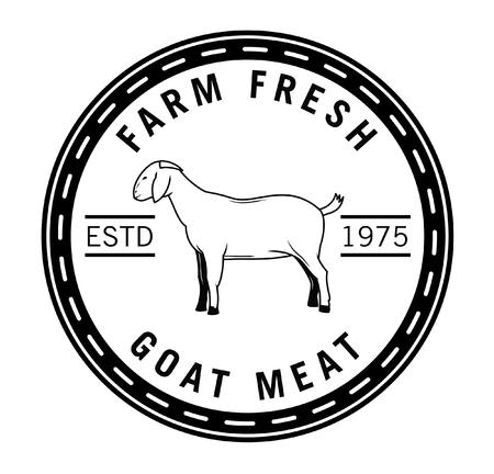 goat cheese: Farm fresh badge