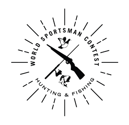World sportsman contest Illustration