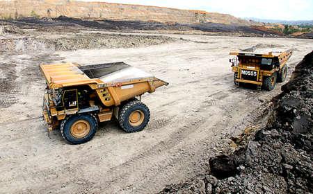 coal fired: Coal Mining Yards