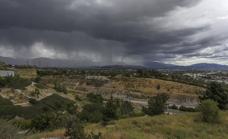 Regenwolken Landschap