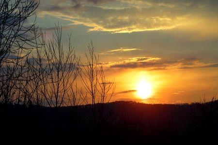 climatology: Early Morning Sunrise