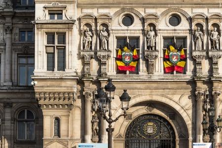 ville: Hotel de Ville (City Hall) in Paris