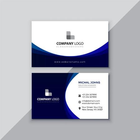 Professional business card design Çizim