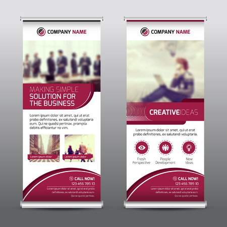 exciting: Multipurpose Business Roll-up Banner