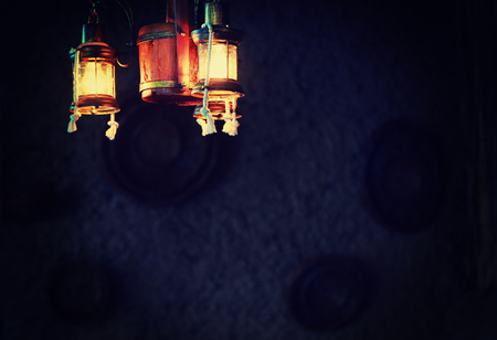 Old Traditional Lanterns of Central Asia